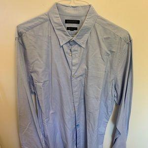 Banana Republic Blue Grant Fit Shirt XL